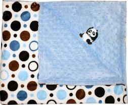 Lil' Cub Hub Minky Blanket with Lil' Cub Characters
