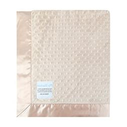 My Blankee Minky Dot/Back Satin Flat Satin Border Blanket, T