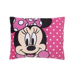 Disney Minnie Mouse Bright Pink Soft Plush Decorative Toddle
