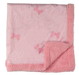 Disney Minnie Mouse Double Sided Infant Blanket, Printed Min
