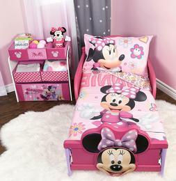 Minnie Mouse Microfiber Sheet Set Toddler 3 Pcs Bedding Set