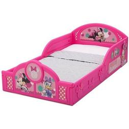Disney Minnie Mouse Plastic Sleep and Play Toddler Bed Pink