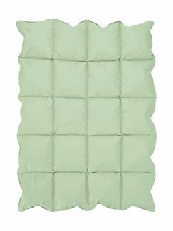 Mint Green Baby Down Alternative Comforter/Blanket for Crib