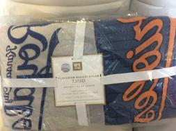 Pottery Barn Teen MLB Quilt Twin NWT American League Basebal