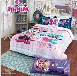 Minnie Mouse Disney Fleece Decoration Room Blanket Gift Comf