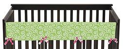 Sweet Jojo Designs Modern Olivia Long Front Rail Guard Baby