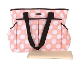 Cutebabies Modern Tote - Baby Diaper Bag for Mom, Purse Desi