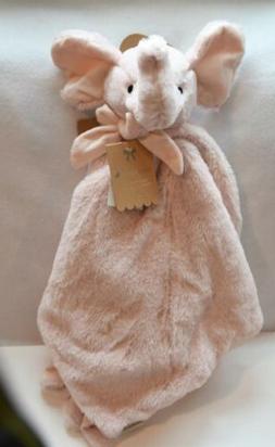 Mon Lapin Large Elephant Security Blanket Lovey Pink Nuno Ne