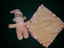 Angel Dear NUBY type MONKEY Blankie Infant Baby Cuddle Blank