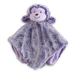 Monkey Security Blanket, Animal, Baby Gift, Purple, Girls, S