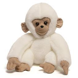 "GUND Mooch Monkey Stuffed Animal Plush, White, 10"""