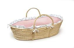 Badger Basket Natural Moses Basket  by Badger Basket