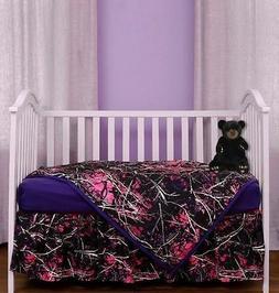 Carstens Inc. Muddy Girl 3 Piece Crib Bedding Set