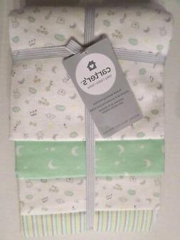 Carter's Music Note Receiving Blankets - Set of 4