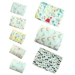 Muslin Baby Blanket Swaddle Cotton Bedding Blankets Bath Tow