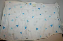 MomEasy Muslin Baby Sleeping Vest Sleepsack 100% Natural Cot
