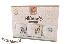 Bambi Wee Muslin Baby Swaddle Blankets Soft 100% Cotton XLar