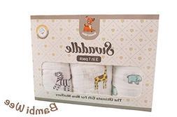 Bambi Wee Muslin Baby Swaddle Blankets Soft 100% Cotton XLar