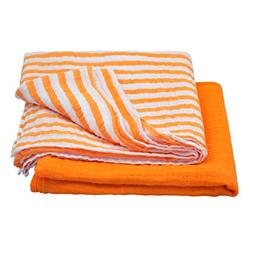 green sprouts Muslin Swaddle Blankets made from Organic Cott