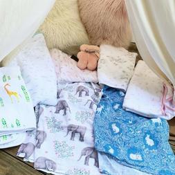 Muslin Swaddle Blankets - Soft Silky 100% Muslin Cotton Swad