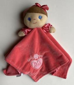 Baby Starters My First Doll Plush Hot Pink Security Blanket