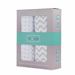 Pack N Play Portable Crib Sheet Set 100% Jersey Cotton Unise