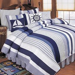 Nantucket Dream Quilt Collection, King Quilt