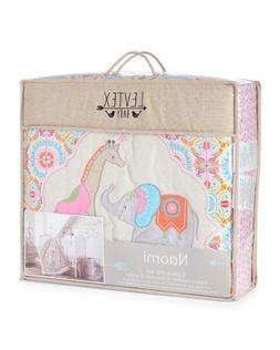Levtex Baby Naomi 11-Pc Crib Bedding Set Include Bumper/Blan