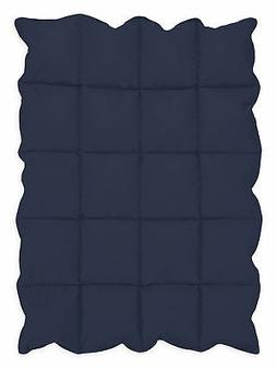 Navy Blue Baby Down Alternative Comforter/Blanket for Crib B