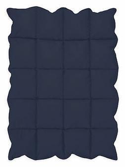 Navy Blue Baby Down Alternative Comforter/Blanket for Crib B