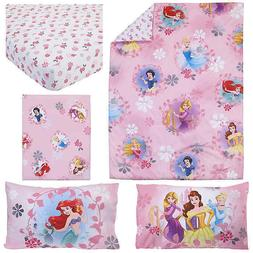 NEW Disney 4 Piece Minnie's Fluttery Friends Toddler Bedding