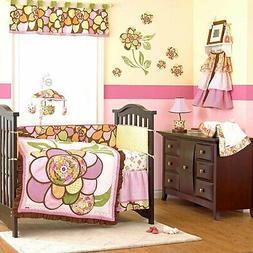 New 5 pc Cocalo WILLA Nursery Crib Bedding Set Quilt Diaper