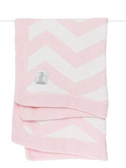 New $82 Little Giraffe Dolce Chevron Baby Receiving Blanket,