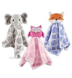 "New Hudson Baby Animal Plush Security Blanket 14"" Boy Girl G"