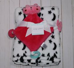 New Soft Baby Gear Security Blanket With Rattle Toy Newborn