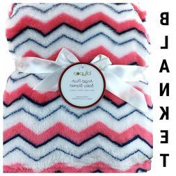 New Lollypop Baby Kids Blanket Plush Fleece Modern Chevron P