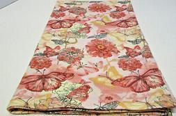 NEW Baby Receiving Blanket, 41x32 Organic Cotton Crib Peach