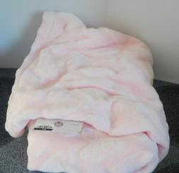 New Baby Soft Pink Cloud Island Blanket 100% Polyester Measu
