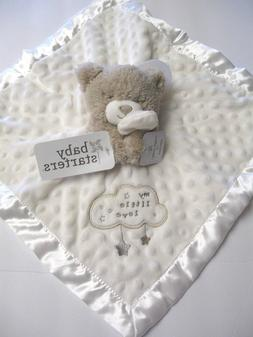 "New Baby Starters Bear Security Blanket with Dots ""My little"