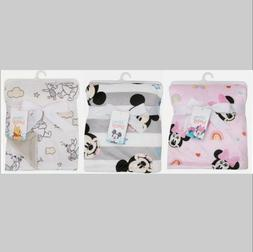 New! Disney Baby Blanket. Winnie the Pooh. Mickey Mouse. Min