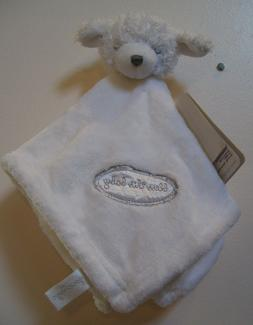 New Blankets & Beyond White Sheep Lamb Bless This Baby Secur