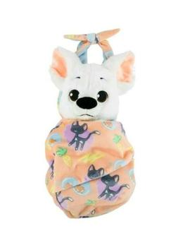 NEW Disney Parks BOLT Baby Puppy Dog Plush with Blanket Pouc