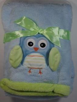 New Baby Gear Boy's Blue & Green Micro Plush 3D Woodland For