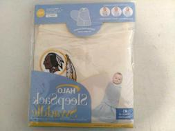 New Halo Brand Baby Sleep Sack Swaddle-Blanket- w/-Washingto