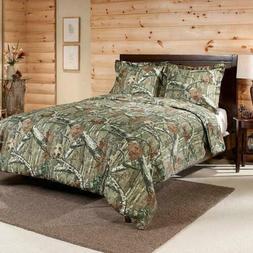 New Mossy Oak Break Up Infinity Camo Twin Mini Comforter Set