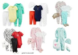 NEW Carters 4 Piece Layette Sets Discontinued Newborn 3 6 9