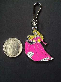 New Disney Princess Aurora Sleeping Beauty Charm Zipper Pull