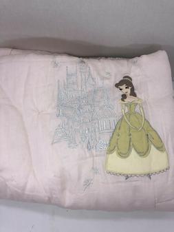 New Pottery Barn Kids Disney Princess Toddler Quilt Cinderel