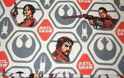 New Hand Crafted Star Wars Emblems Oversize Receiving Baby B
