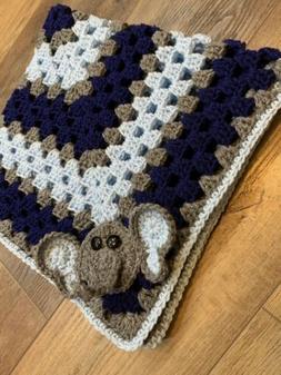 NEW Handmade Crochet Baby Blanket Afghan Nursery Crib Beddin